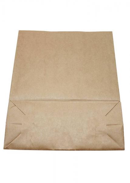 verpackungen f r alle blockbodenbeutel luncht te braun natron 22 10x28cm. Black Bedroom Furniture Sets. Home Design Ideas